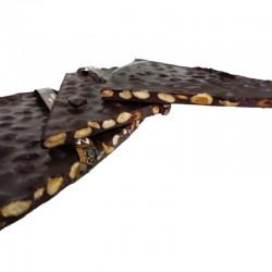 CHOCOLATE NEGRO CON ALMENDRAS (100 GR)