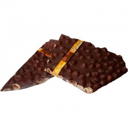 CHOCOLATE CON LECHE CON AVELLANAS (100 GR)