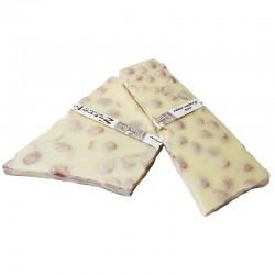 CHOCOLATE BLANCO CON AVELLANAS (100 GR)